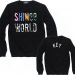เสื้อแขนยาว (Sweater) SHINee WORLD (ชื่อเมมเบอร์)