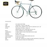 จักรยานเสือหมอบ TANGE รุ่น Classic 2015