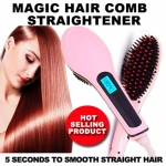 หวีผมตรงไฟฟ้า Beautiful Star Magic Hair Comb Straightener