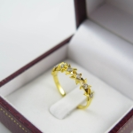 แหวนเพชรดาวเรียง
