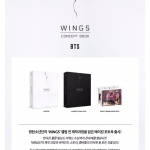 [#BTS] WINGS CONCEPT BOOK LIMITED EDITION