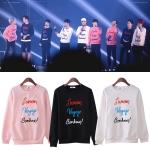 เสื้อแฟชั้นเกาหลีแขนยาว EXO 2015 (อักษรปักนูน)