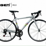 จักรยานเสือมหมอบ TIGER VELO 14 สปีด เฟรมอลู