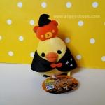 ตุ๊กตาไก่ คิอิโระอิโทริหัวฟักทองฮาโลวีน Kiiroitori pumpkin halloween (size s)