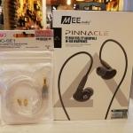 หูฟัง Mee Audio Pinnacle P2 และสายอัพชุบเงิน Fiio Se-Se1