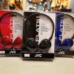 Jvc Flats Series Ha-S160 หูฟัง Onear Mini Fullsize เสียงสมดุลเน้นคุณภาพ รูปทรงทันสมัย