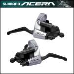 มือเกียร์ ACERA, ST-T3000 รุ่นติดมือเบรค (V-Brake), R/L, 9-SPD, (อินโด)