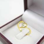 แหวนเพชรหัวใจ