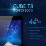 Cube T8 8 Inch Android 5.1 MTK8735 Quad-core 16GB ROM Dual SIM OTG 4G Tablet