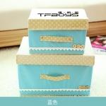 กล่องใส่ของ TFBOYS สีฟ้า1 ชุด