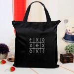 กระเป๋าผ้า EXO สีดำ
