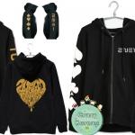 เสื้อฮู้ด ซิปหน้า 2NE1 2015
