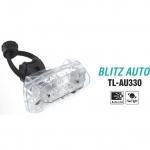 CAT EYE ไฟท้ายกระพริบแคทอายใหม่ BLITZ AUTO, TL-AU330-R, สีขาว แสงสีแดง