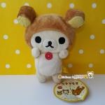 ตุ๊กตาหมีโครีแลคคุมะสวมหมวกคุมะ Korilakkuma plush toy white bear with rilakkuma hat