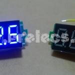 """Volt Meter DC 0.36"""" สีน้ำเงิน"""
