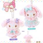 ตุ๊กตาพวงกุญแจโลลิตามายเมโลดี้ Sanrio My Melody Cosplay Lolita Princess!! Rococo style!! [ชุดกระโปรงเขียวมิ้นต์]