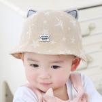 หมวก สีกากี แพ็ค 5ใบ ไซส์รอบศรีษะ 50-52CM