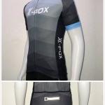เสื้อปั่นจักรยานแขนสั้น X-FOX (Polyester 100% COOLMAX)