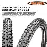 ยางนอกขอบพับ MAXXIS CROSSMARK 27.5X1.95,MCM275195WB