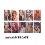 การ์ดเซต Jessica - MY DECADE (10 ใบ)