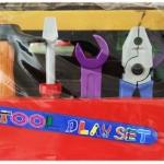 เครื่องมือชั่งพร้อมถังเก็บและเข็มขัดช่าง