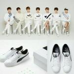 รองเท้าผ้าใบ [#BTS] PUMA & BTS COURT STAR - Made by BTS - LIMITED EDITION (ระบุเบอร์ที่ช่องหมายเหตุ)
