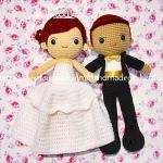 ตุ๊กตาแต่งงาน เจ้าบ่าวเจ้าสาว 11 นิ้ว