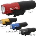 CATEYE ไฟหน้า VOLT400, HL-EL461RC, สีดำ และG.BLACK, สีทอง, สีแดง, สีฟ้า