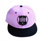 หมวกEXO XOXO (สีชมพูอ่อน)