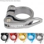 รัดหลักอาน TOTTA Bicycle Seat Tube locker, Quick Release 34.8MM.