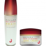 O2CARA RED GINSENG SNAIL ESSENCE AND CREAM WITH GALACTOMYCES