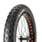"ยางพับ DURO TYRE FAT BIKE"" BIG D"" 26X4.0 STAR FOLDABLE BLACK"