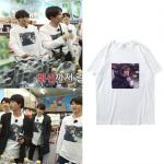 เสื้อยืด เสื้อแฟชั่นไอดอล เสื้อนักร้องเกาหลี #BTS (พรีออเดอร์)