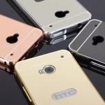 เคส HTC One M7 รุ่น Aluminium Hybrid Mirror Back (เคสฝาหลังเงา)