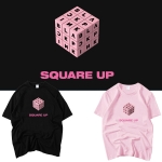 เสื้อยืด (T-Shirt) BLACKPINK - SQUARE UP