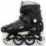 รองเท้าสเก็ต rollerblade แบบสลาลม รุ่น MTB สีดำ Fixed Size 44,45