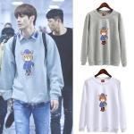 เสื้อแขนยาว (Sweater) ลายหมี แบบ Seongwu