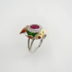 แหวนทับทิม (Ruby Silver Ring)