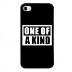เคสiphone4/4s one of a kind สีดำ