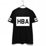 เสื้อยืดแฟชั่น HBA HBA Hood By Air BTS V 2014 สีดำ