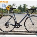 จักรยานเสือหมอบ TOTEM RACE รุ่น B409 เฟรมอลู 14 สปีด 2015