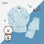 #BT21 PAJAMAS ชุดนอน (เสื้อ+กางเกง) : RJ