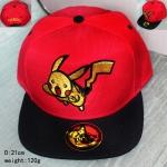 หมวกปิกาจู สีแดง