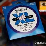 D'Addario EXL 115 Blues/Jazz Rock
