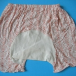 MPG011 กางเกงก้นบาน-ขาสั้นสำหรับสาวน้อย Size 1-3 ขวบ