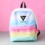 กระเป๋าเป้สีเรนโบว์ Seventeen