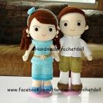 ตุ๊กตาแต่งงานชุดไทย แบบ4