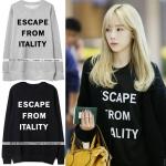 เสื้อแขนยาวกันหนาว (Sweater) Escape From Itality แบบ Taeyeon
