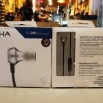 หูฟัง Rha Ma390 Universal Mic หูฟังอินเอียร์มีไมค์ แบรนจากอังกฤษ เสียงดี ทำจากโลหะ รูปทรงหรูหรา ใส่สบาย