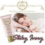 Mille Whitening Rose Baby BB Craem SPF 30 PA++Glowing Natural (หลอดสีชมพู)
